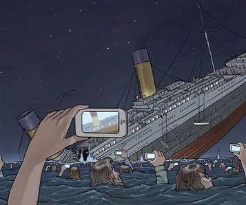 Если бы Титаник затонул в наши дни