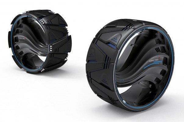 Kumho представила концепцию покрышек будущего Maxplo