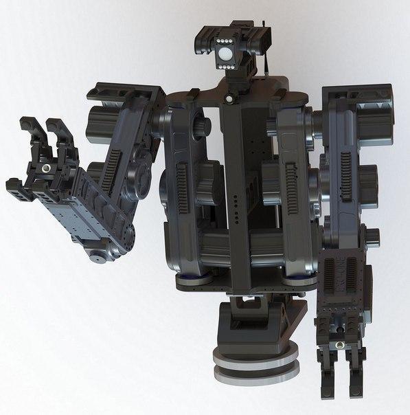 Французы показали робота-аватара