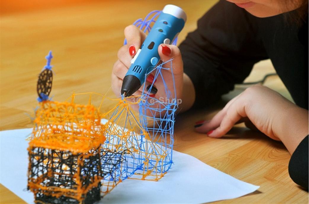 3Д ручки. Рисуем в пространстве