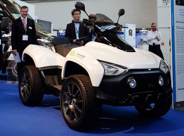 Acer создала электрический квадроцикл X Terran