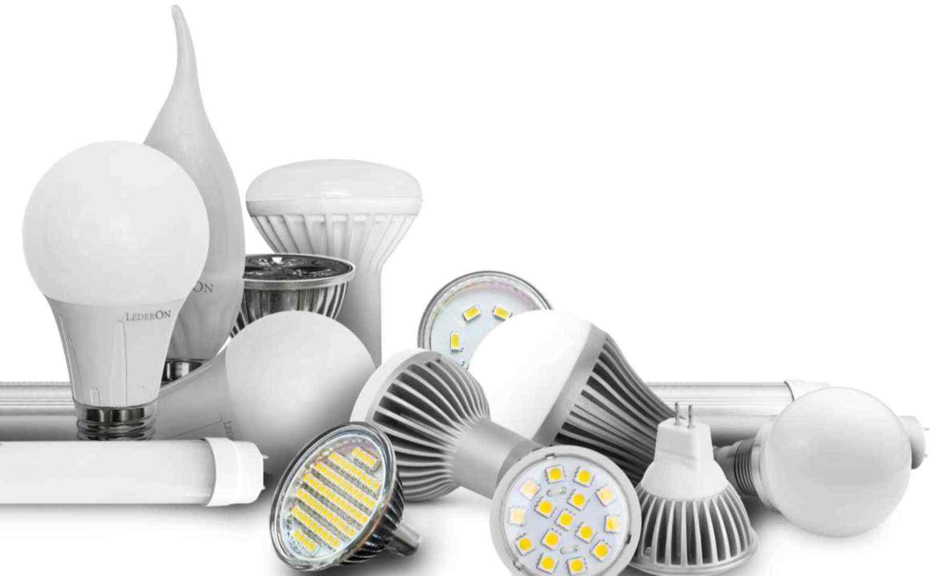 Светодиодные лампы, светодиодная лента, светильники настольные и декоративные, звонки, сетевые фильтры, споты, фонарики 17