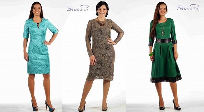 Шeгuдa-18, платье для любого случая. Готовим новогодние наряды! Огромный выбор. Новинки и уже полюбившиеся модели. Размеры 44-64, без рядов!