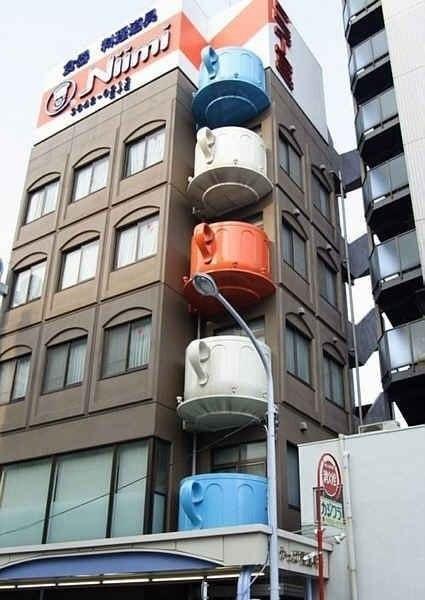 Балконы-чашки в Японии