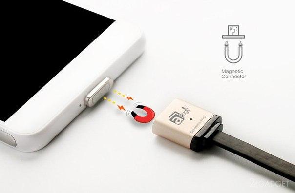 Универсальный магнитный кабель для зарядки гаджетов