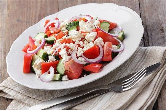 Низкокалорийный салат пошопски