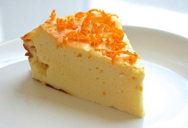 Если очень хочется сладкого Творожник апельсиновый 183 ккал/100 гр