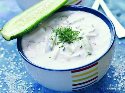 Кефиный суп для похудения