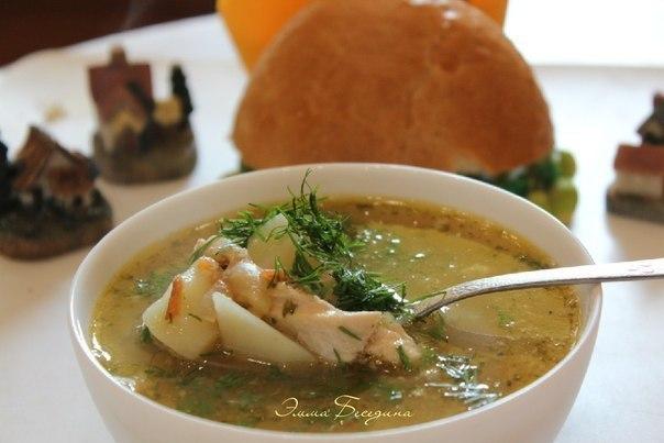 Гороховый суп с курицей.
