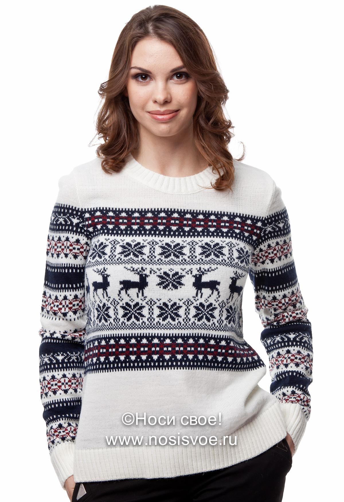 Тренд наступающей зимы - сказочные свитера с оленями и скандинавскими узорами, одеваем всю семью! Уютный подарок себе и