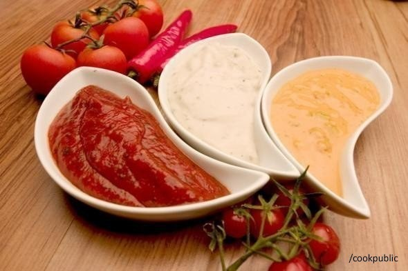 Такие разные соусы (10 вариантов разных соусов)