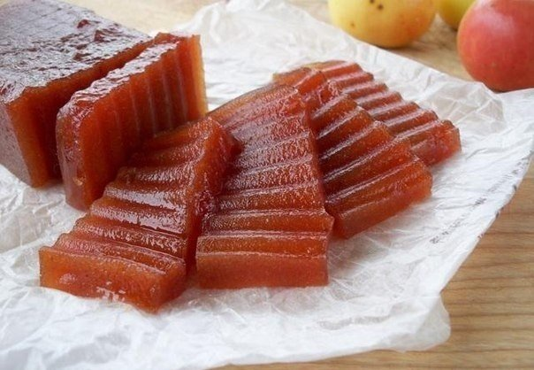 Рецепт для деток Яблочный мармелад