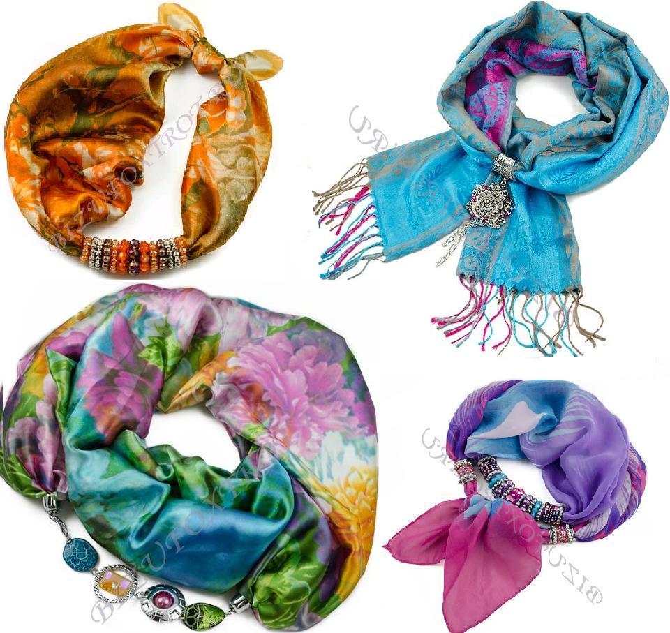 Сбор заказов.Изысканные шарфы, косынки, платки с украшениями из Чехии, а также бижутерия из чешского стекла -будьте неотразимы-8!Новинки и распродажа! Готовим подарки!