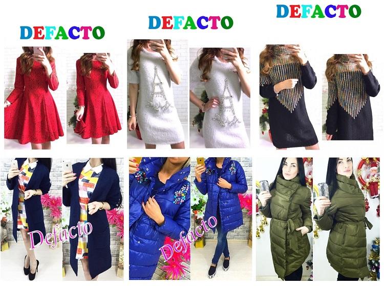 Сбор заказов. Новая закупка! DеFасtо, симпатичные модные платья, кардиганы, куртки. Есть распродажа от 490 руб!