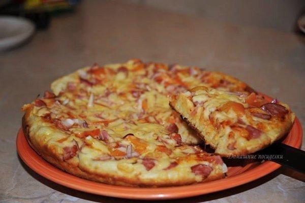 Пицца на сковороде!