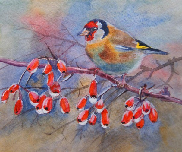 Покормите птиц зимой...