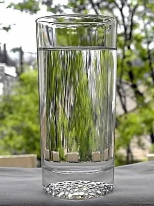 Когда необходимо пить воду.