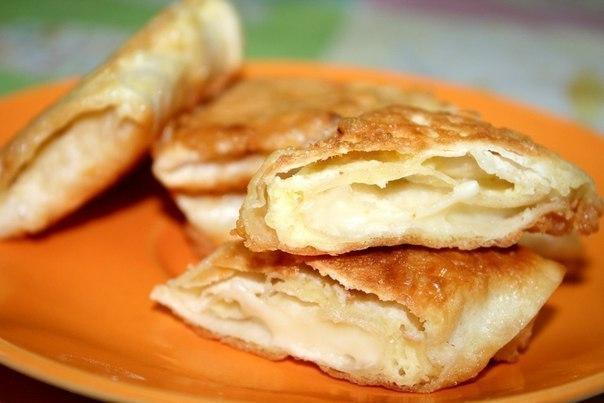 Лаваш,жаренный с сыром