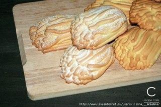 Печенье Хризантемы из детства... или печенье через мясорубку