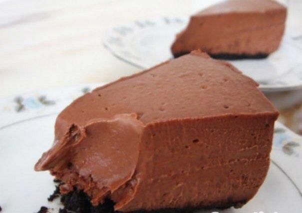 Шоколадный чизкейк ценность на 100 г - 110,2 ккал,