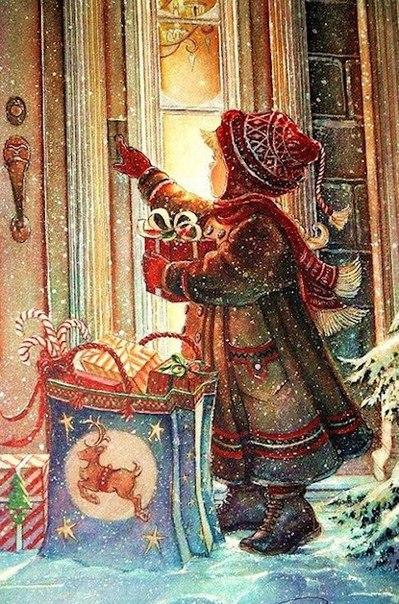 Новогоднее настроение это когда рад видеть даже тех, кто ошибся дверью