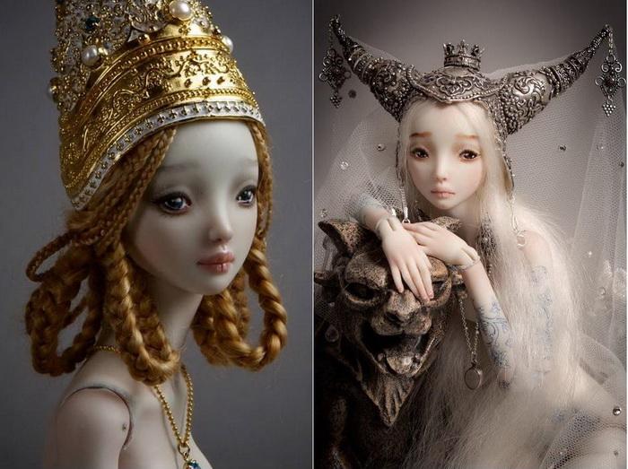 Утонченные куклы- марионетки...