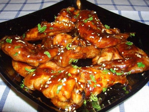 Курица-терияки (2 порции), 1 порция 200 ккал