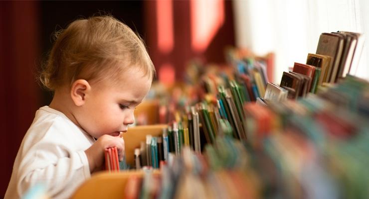 Большой-пребольшой пристрой книг! ну еще игрушки, гипфел...