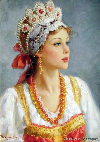 Почему русские женщины любят наряжаться