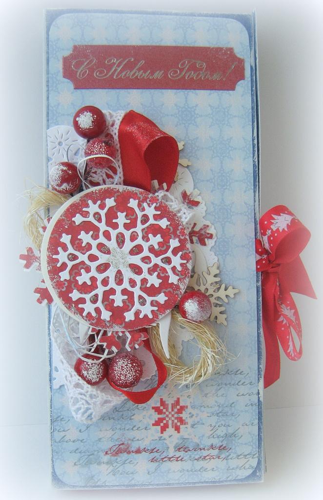 Новогодние открытки и шоколадницы