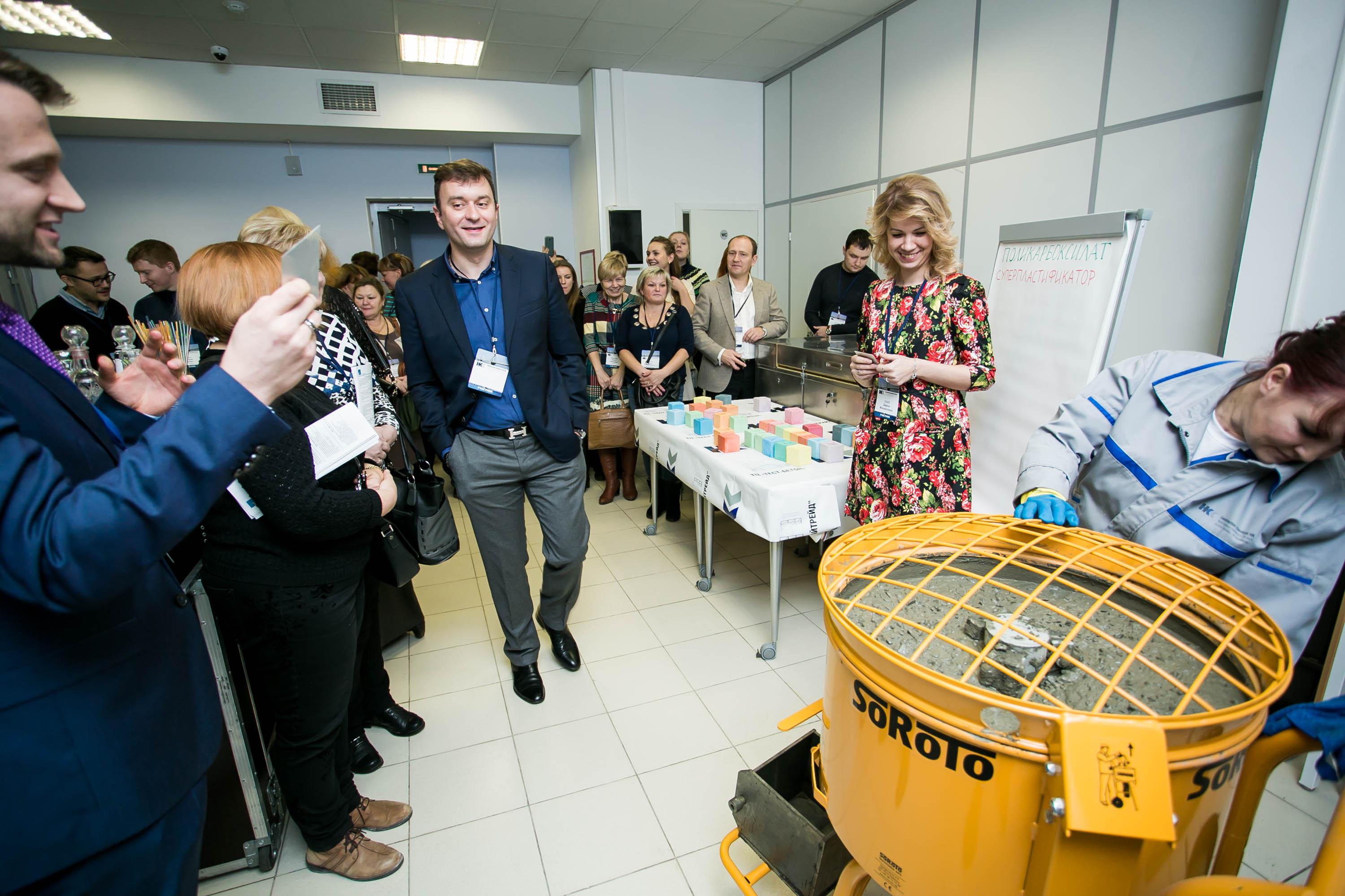 Наука в массы: день открытых дверей для ТЦ Тест-Бетон