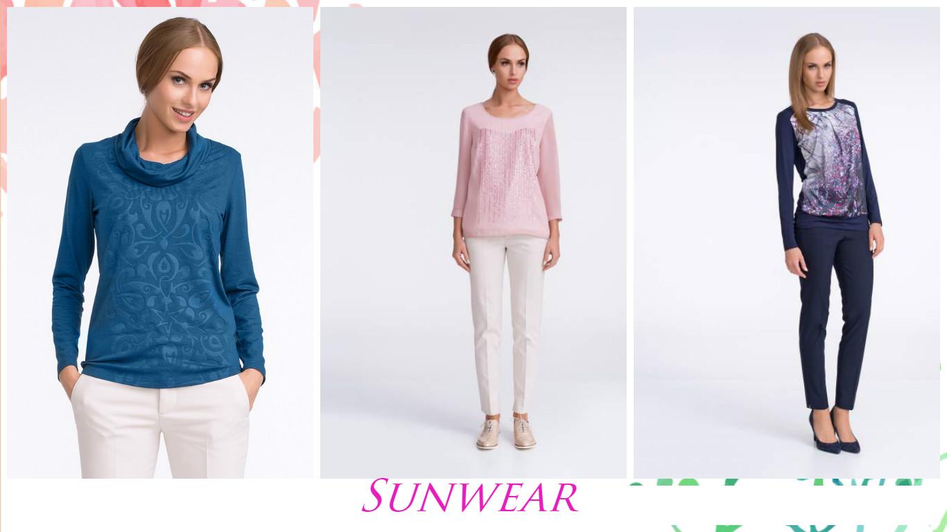 Sunwear-женский трикотаж от ведущего польского производителя! Цены снижены!