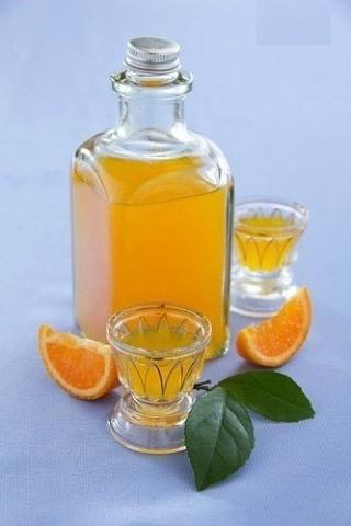 Вкусный мандариновый ликер