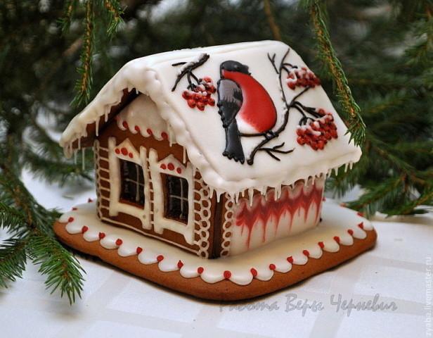 Пряничные домики. Отличная идея новогоднего подарка