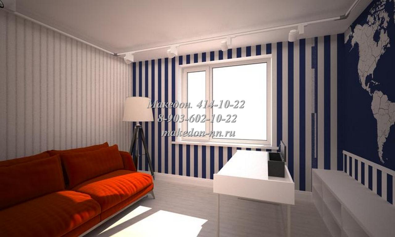Ремонт квартиры по дизайн-проекту в Седьмом небе