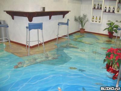 Наливные полы в жилых, общественных помещениях от 500 руб.за кв.м.