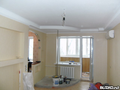 Ремонт квартир, частных домов от 1500 рублей за кв.м.