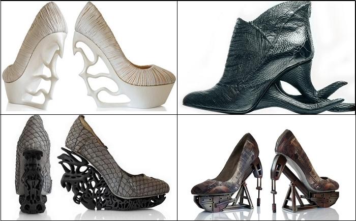 Я бы обула такие провокационные каблуки.... Только для смелых женщин...
