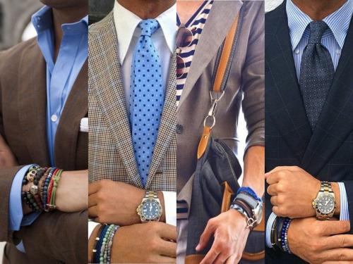 Внимание! Тренд сезона: мужская бижутерия. Различные украшения на мужчине всегда считались показателем его высокого статуса. Огромный выбор часов, колец, браслетов, амулетов, подвесок различных стилей и направлений