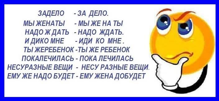 Ах, этот русский язык !