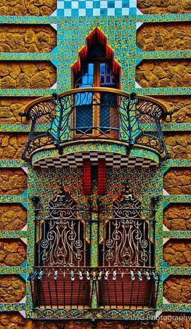 Балконы Барселоны