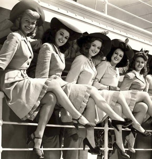 Красавицы из 40-х