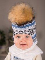 Сбор заказов.Шлема и шапочки для наших любимых детишек с пушистыми помпонами из натурального меха.