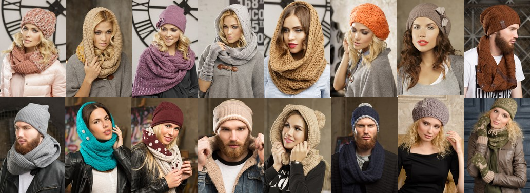 Сбор заказов. Supershapka-20. Потрясающие шапки, береты, капоры, снуды, капюшоны, комплекты, шарфы, варежки. Для