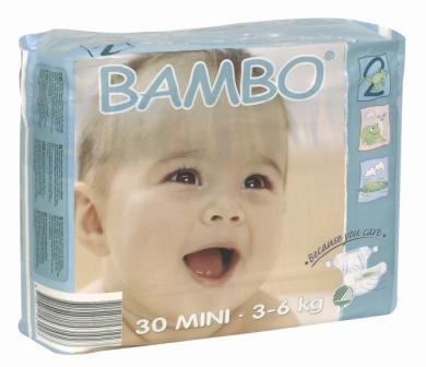 Экологические подгузники Bambo
