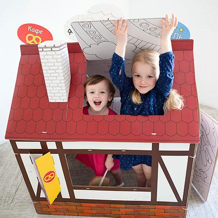 Сбор заказов. Йохоу! Настоящий картонный домик или театральная ширма у Вас дома. А также конструктор Йоко. Подарите ребенку его мечту.