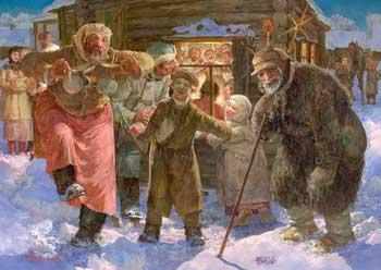 Как праздновали новый год на руси.