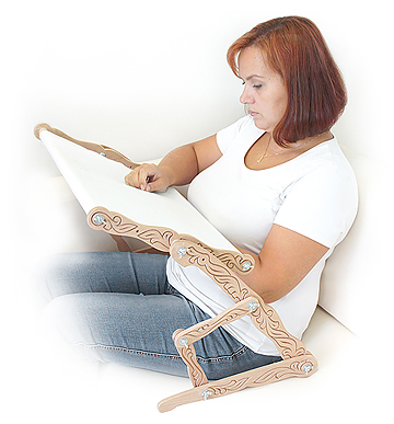 Сбор заказов Подарки рукодельницам. Станки (настольные, диванные, напольные) для вышивания крестиком и бисером, рамки-пяльцы для вышивания из натурального дерева (бука). Органайзеры для мулине и бисера, натяжки для канвы - 8.