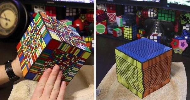 Знакомьтесь кубик Рубика 17x17. Мировой рекорд 7,5 часов!