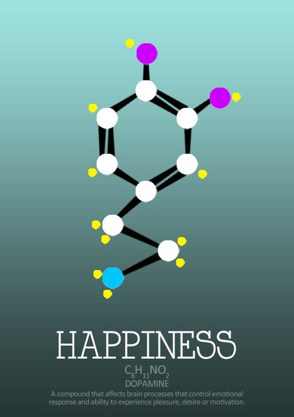 Молекулярное отражение наших чувств и переживаний.